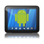 hp touchpad android thumb