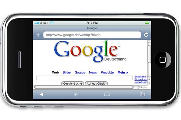 how to make google primary search engine on ipad