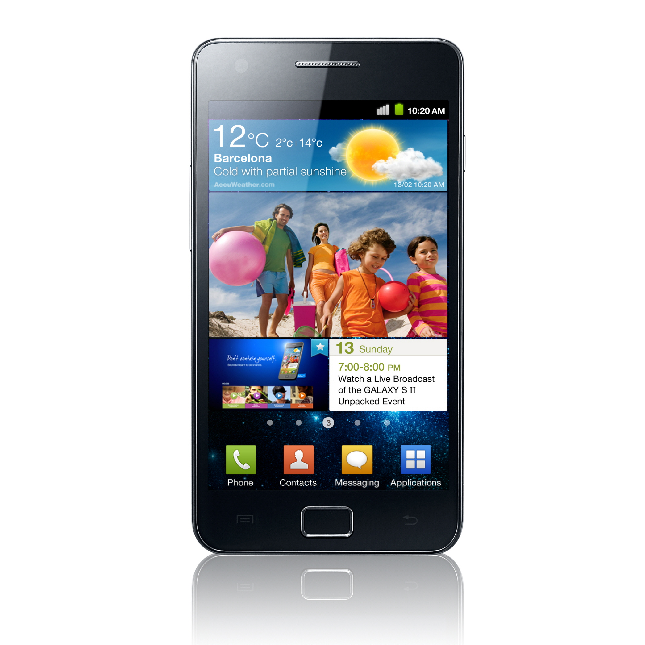 Samsung Galaxy S 2 Epic 4G Sprint