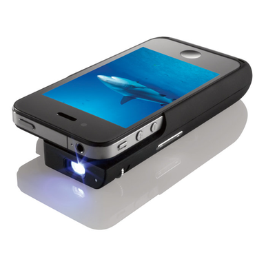 pocket projector iphone 4 case