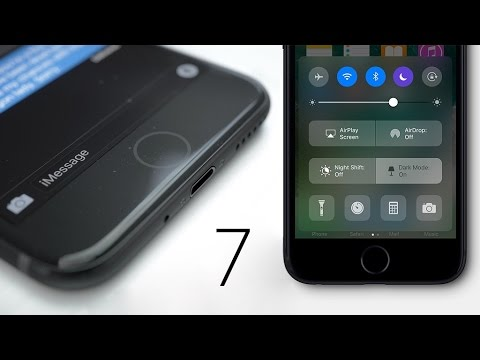 iphone 7 glossy black