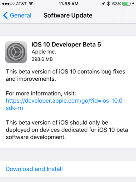 ios-10-1-developer-beta-5-procedure